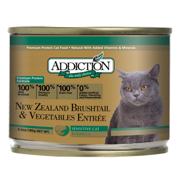 Addiction New Zealand Brushtail & Vegetables Entree 185g