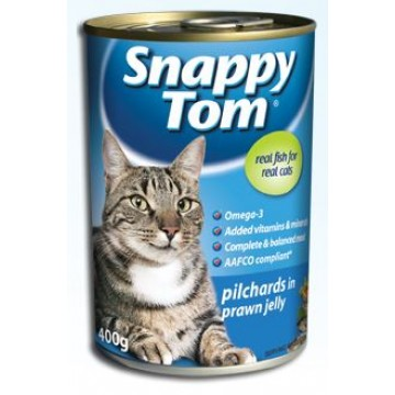 Snappy Tom Pilchards in Prawn Jelly 400g