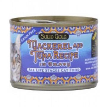 Solid Gold Five Oceans Mackerel & Tuna 170g
