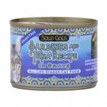 Solid Gold Five Oceans Sardines & Tuna 170g
