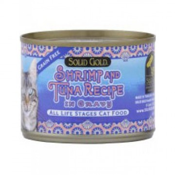 Solid Gold Five Oceans Shrimp & Tuna 170g
