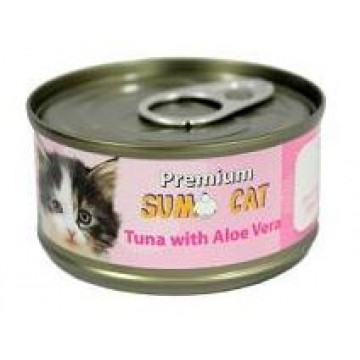 Sumo Cat Tuna with Aloe Vera 80g