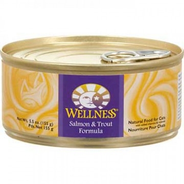 Wellness Natural Food Salmon & Trout 155g