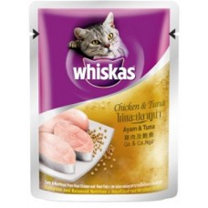 Whiskas Pouch Chicken and Tuna 85g