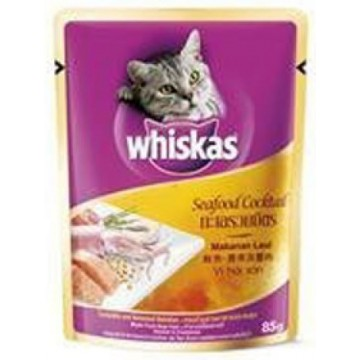 Whiskas Pouch Seafood Cocktail 85g