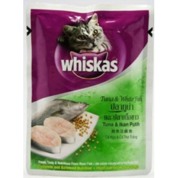 Whiskas Pouch Tuna and White Fish 85g