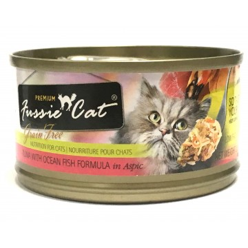 Fussie Cat Premium Tuna With Ocean Fish 80g Carton (24 Cans)