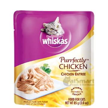 Whiskas Purrfectly Chicken Entree 85g