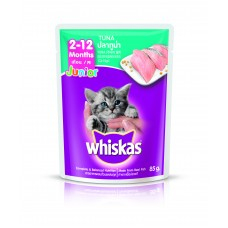 Whiskas Pouch Junior Tuna 85g