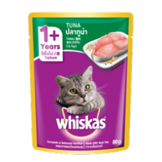 Whiskas Pouch Tuna 80g
