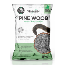 Whiskas2Tail Charcoal Pine Wood Litter 20kg
