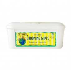 Earthbath Grooming Wipes Hypo-allergenic & Frangrance-free 100pcs