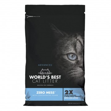 World's Best Cat Litter Non-Scented Zero Mess Clumping Formula 10.89kg