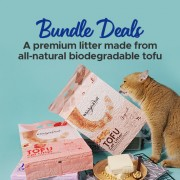Whiskers2tail Tofu Cat Litter Bundle Deals