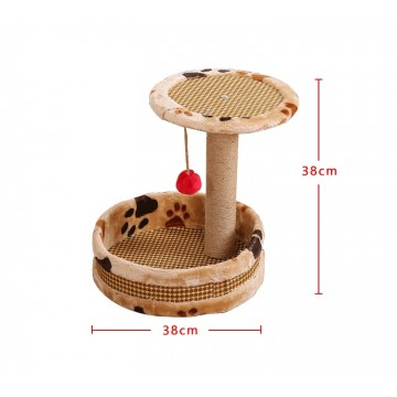 Lavish Cat Tree with Play Pan