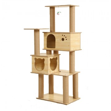 Lavish Cat Tree Multi-Hideout - Jack