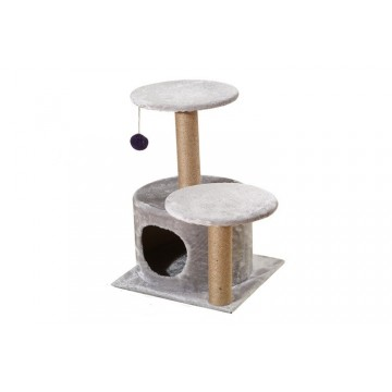 Lavish Cat Tree with Cosy Cubby