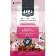 Zeal Canada Gently Air-Dried Salmon and Turkey Recipe 400g