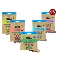 Bundle Deal For Zeal Free Range Naturals and Wild Caught at 5 bags for $55