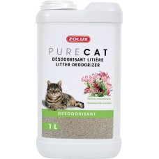 Zolux Pure Cat Litter Deodoriser HoneySuckle 1L