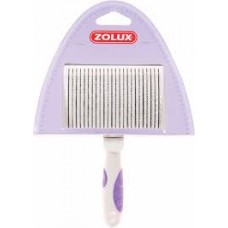 Zolux Metal Retractable Brush Medium