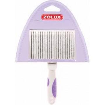 Zolux Metal Retractable Brush Medium