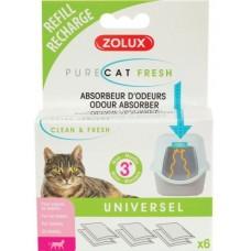 Zolux Purecat Fresh Odour Absorber Refill (6 pcs)