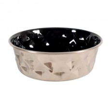 Zolux Diamond Bowl - Black 550ml