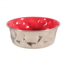 Zolux Diamond Bowl - Red 550ml