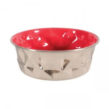Zolux Diamond Bowl - Red 550ml