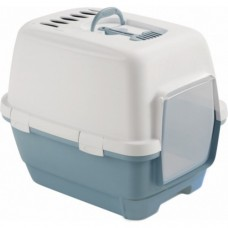 Zolux Cathy Comfort Hooded Litter Box Matt Blue