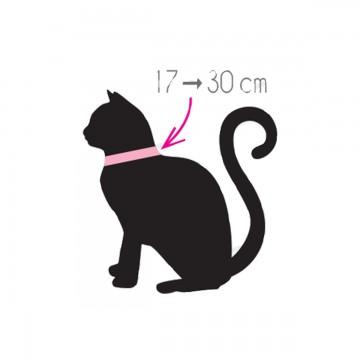Zolux Arrow Nylon Reg Collar Black