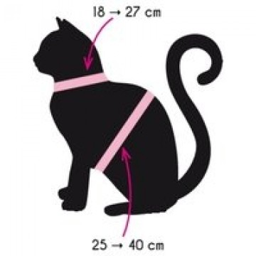 Zolux Cat Harness Kit Orange