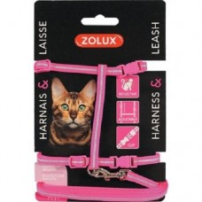 Zolux Cat Harness Kit Pink