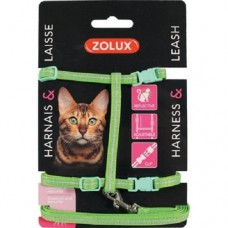 Zolux Cat Harness Kit Green