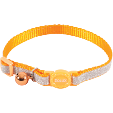 Zolux Shiny Nylon Reg Collar Orange