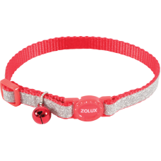 Zolux Shiny Nylon Reg Collar Red