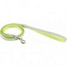 Zolux Shiny Nylon Leash Green