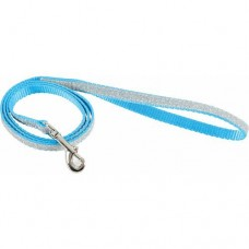 Zolux Shiny Nylon Leash Blue