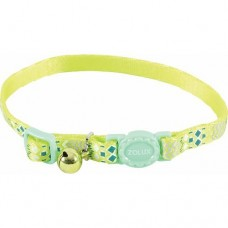 Zolux Ethnic Nylon Reg Collar Green