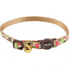 Zolux Arrow Nylon Reg Collar Choco