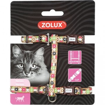Zolux Arrow Nylon Reg Harness Choco