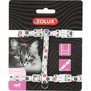 Zolux Arrow Nylon Reg Harness Grey