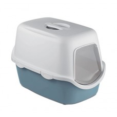 Zolux Cathy Filter Hooded Litter Box Matt Blue