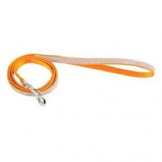 Zolux Shiny Nylon Leash Orange