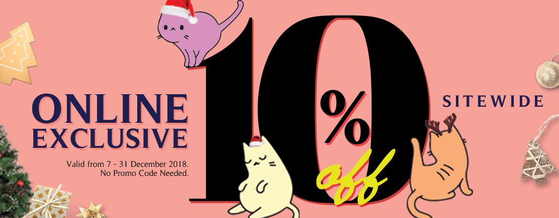 Vesper Upto 50% Off at Catsmart