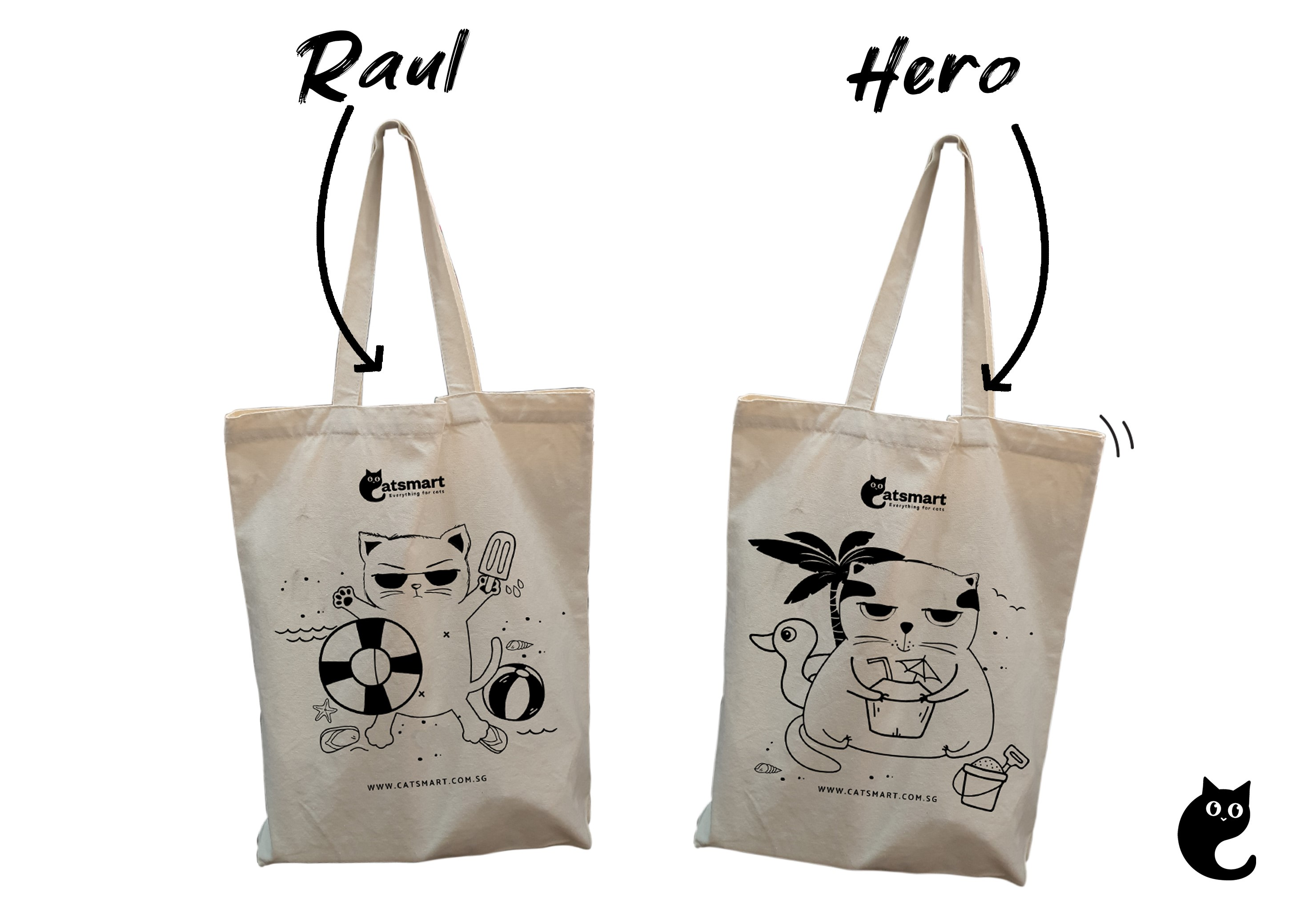 NEW! Stay Cool This Summer With The Limited Edition Hero Tote Bag