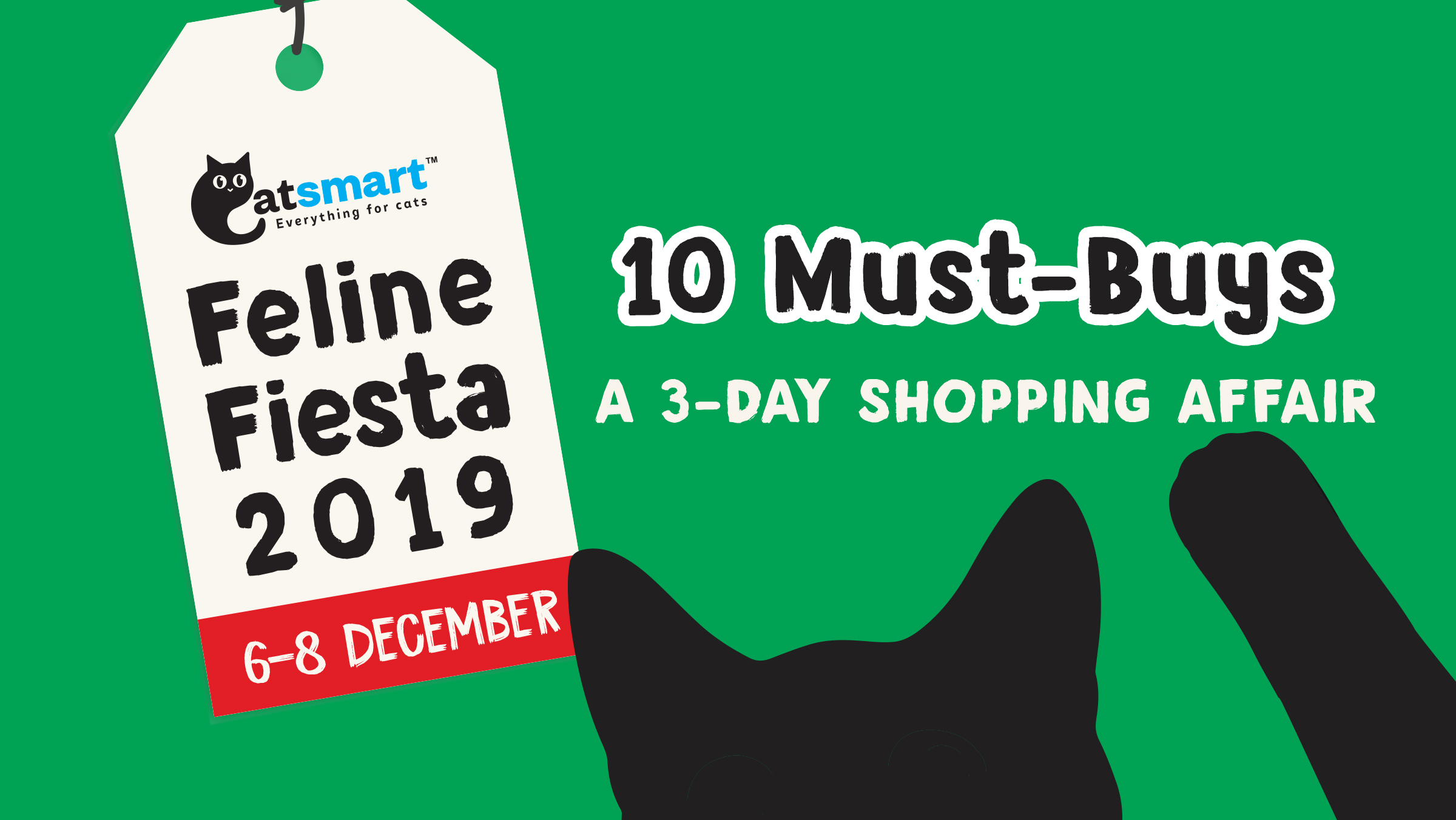 TOP 10 Must-Buy Items @ #FelineFiesta2019