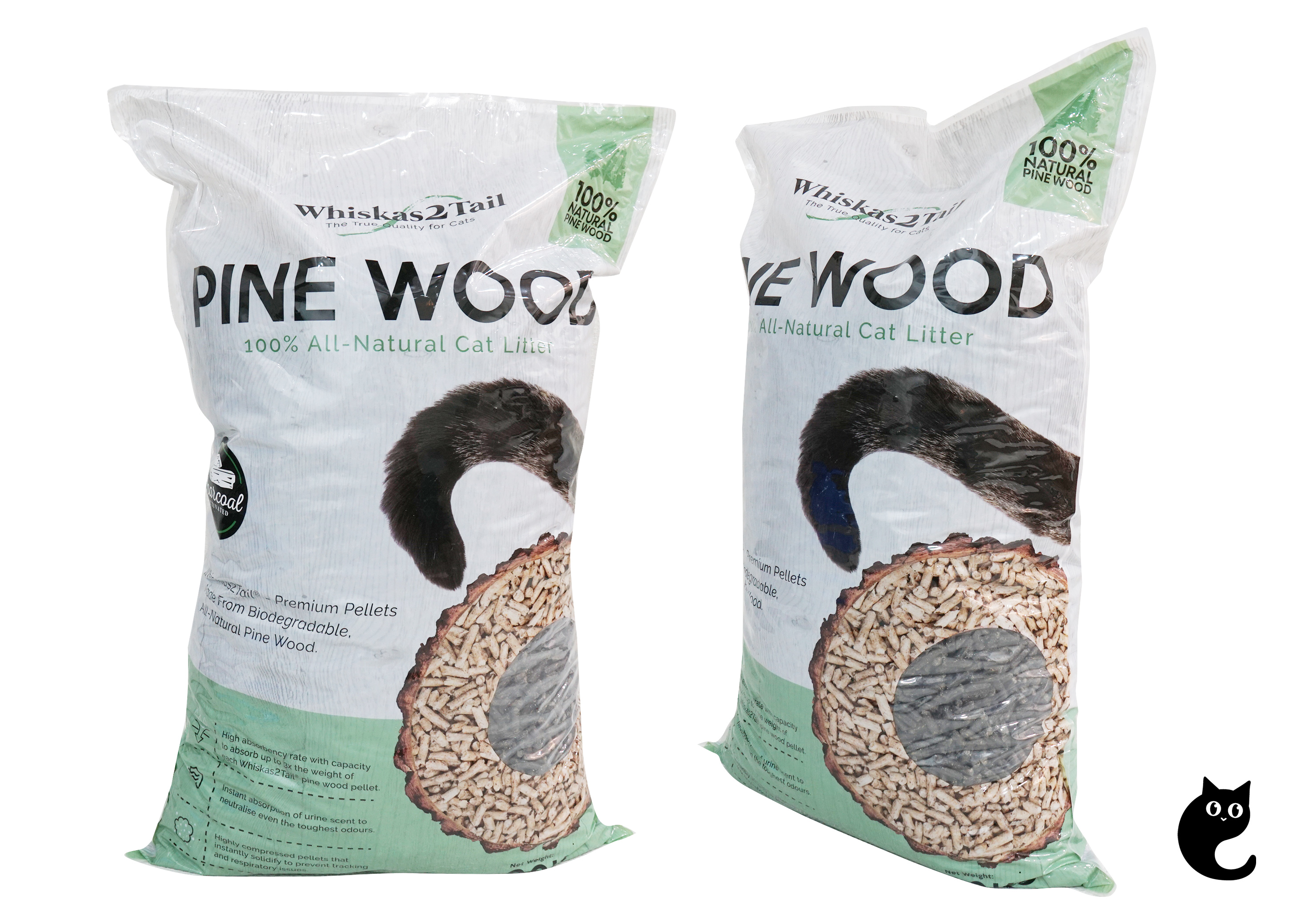 Heed Nature's Call With This All-Natural Pine Wood Litter
